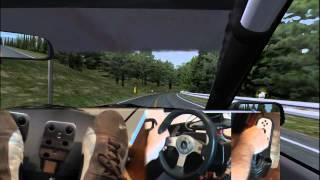 Sim: rFactor Wheel: Logitech G25 Car: Toyota AE86.