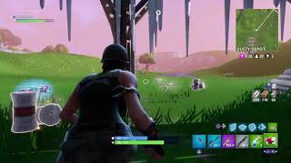 Luckiest clip in Fortnite Battle Royal