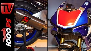 2015 | Yamaha YZF-R1 Race Bike Soundcheck | Akrapovic Racing Komplettanlage