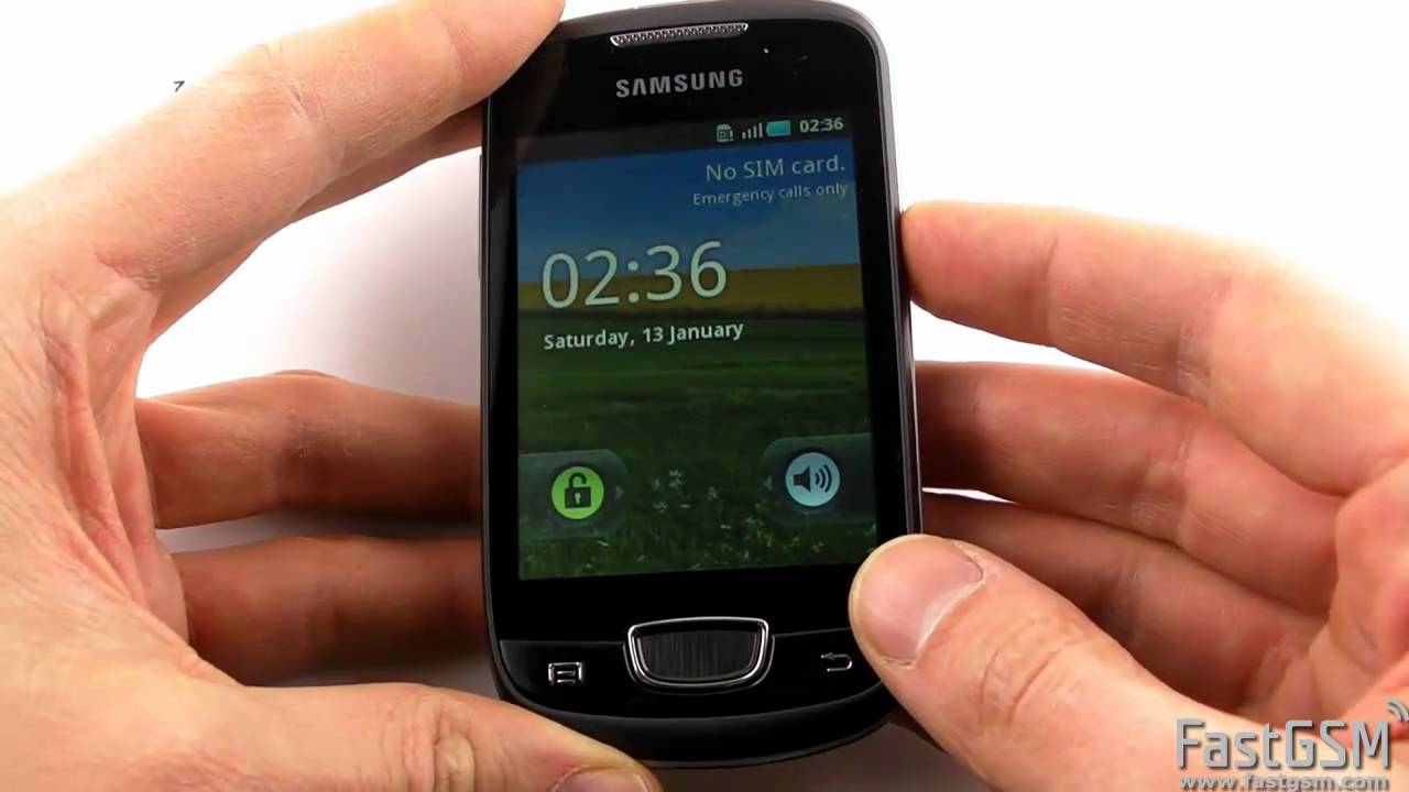 Unlock Samsung S5570 S5660 And S5670 Hd Quality Youtube