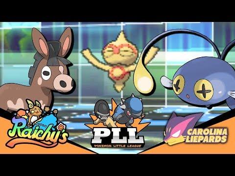 TRICK ROOM?! | Pokemon Little League! [S1W7] Honolulu Raichus Vs. Carolina Liepards