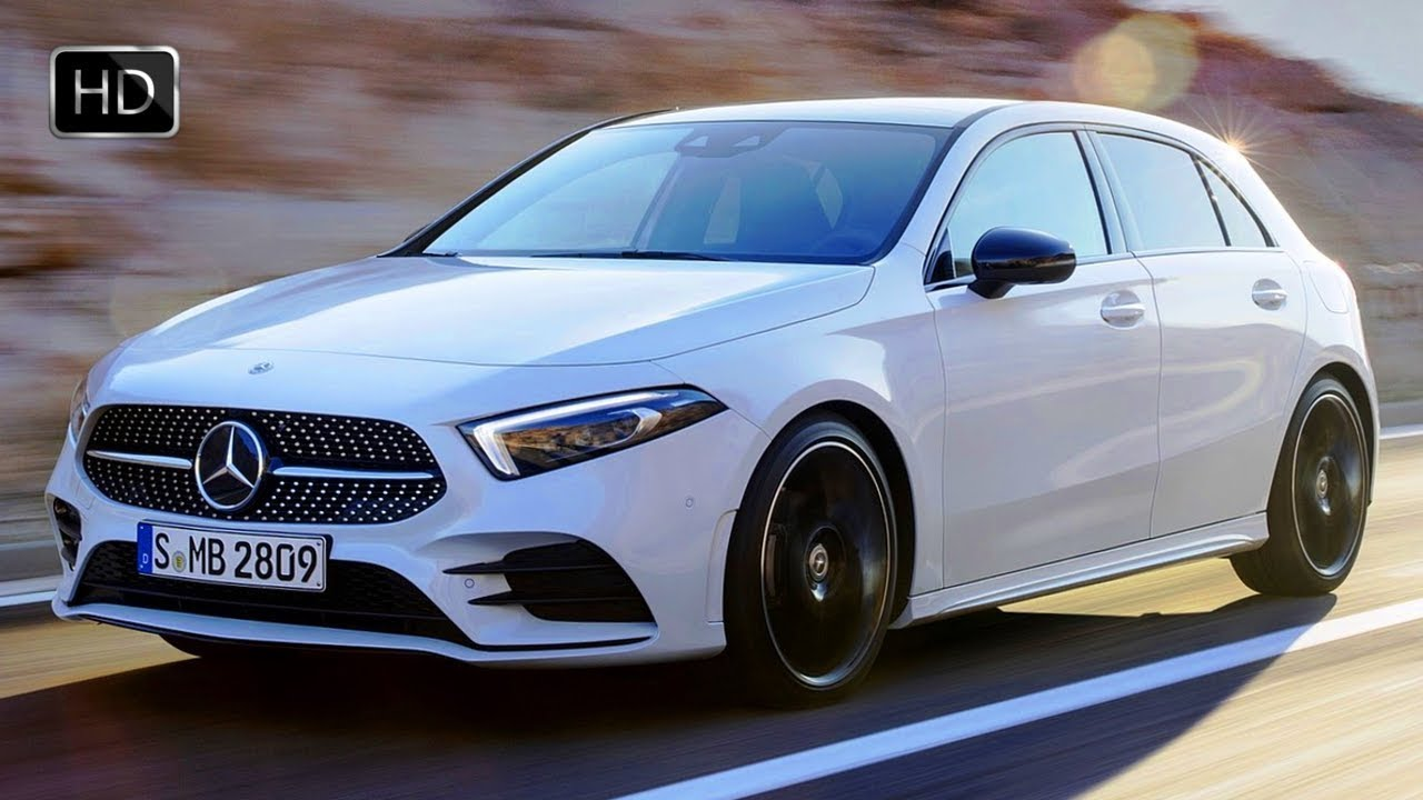2019 Mercedes Benz A Class Hatchback Digital White Pearl Design