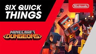 Six Quick Things! with Minecraft Dungeons - Nintendo Switch