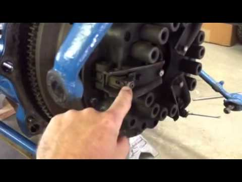 Ford 5000 Wiring Diagram Many To Relationship 1967 Tractor Clutch Adjustment - Youtube
