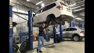 Субару Форестер ремонт подвески и техническое обслуживание (ТО-3)
