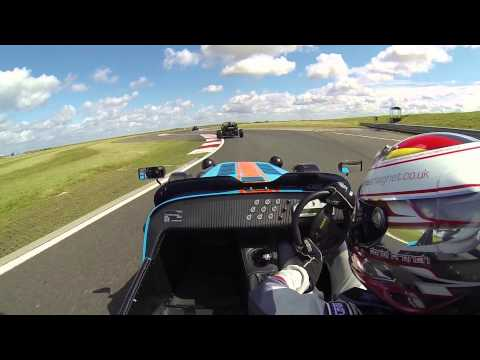 Caterham R500 vs Ariel Atom(s) Track Battle at Bedford Autodrome