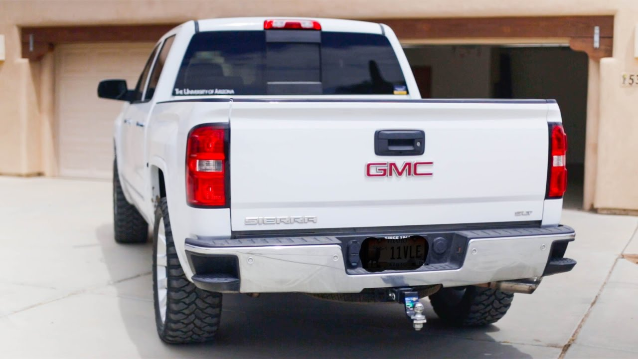 Loud 2015 Gmc Sierra Exhaust Black Widow Race Venom Youtube