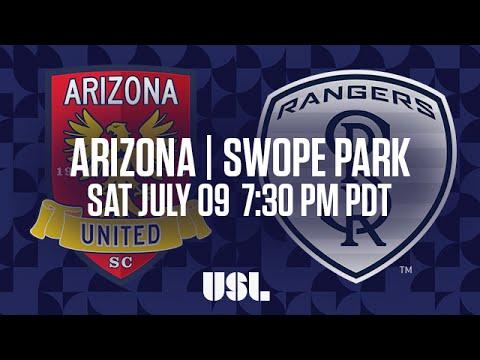 WATCH LIVE: Arizona United SC vs Swope Park Rangers KC 7-9-16