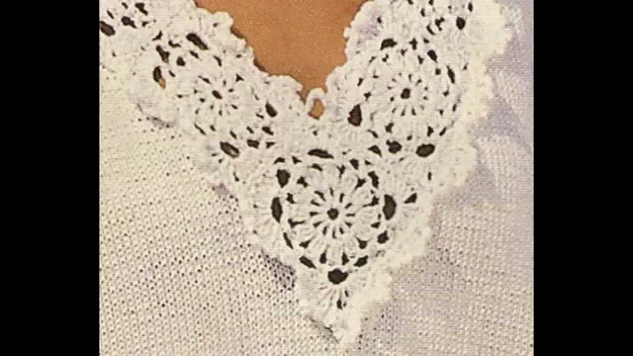 Jersey con cenefas a crochet - YouTube