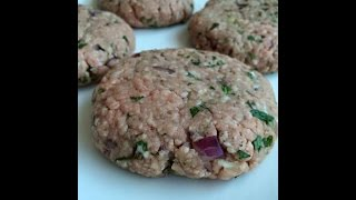 Weight Watchers Recipe - Minted Lamb Burgers