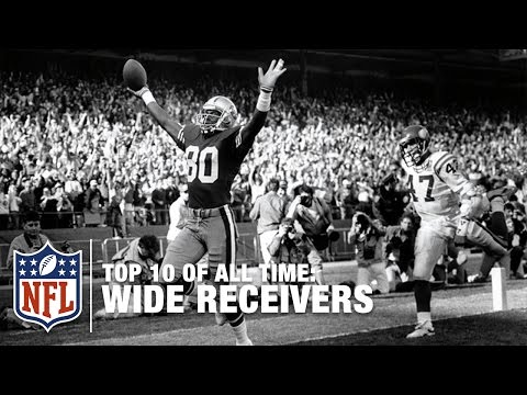 Top 10 Wide Receivers of All Time | NFL