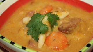 How To Make Caribbean Ham Bone Soup.