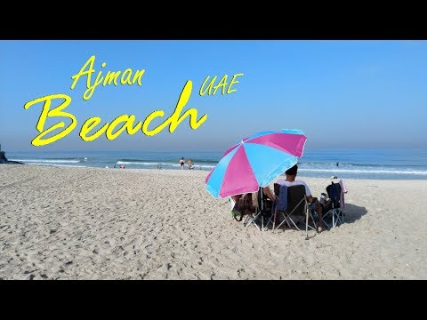 Ajman Beach, Open Beach Corniche, Ajman, United Arab Emirate
