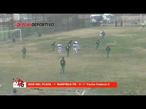 """Federal """"C"""" Mar del Plata 1 Banfield Puerto Deseado 0"""