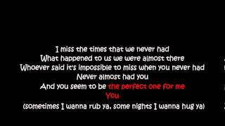 Almost - Tamia (lyrics karaoke)