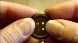 Handmade Paper Buttons TUTORIAL