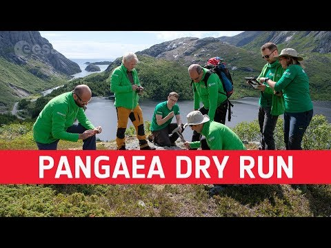 Pangaea 2019 dry run