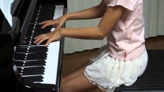 2013年8月5日 録画、 使用楽譜;全音ピアノピース.