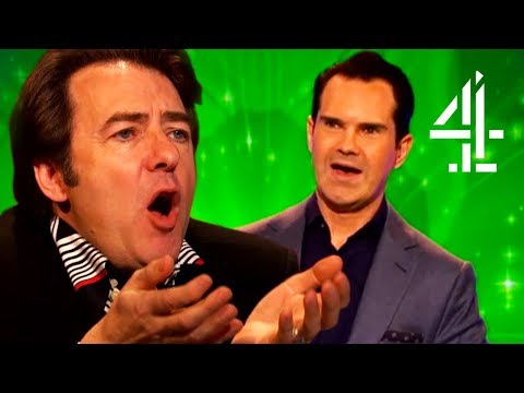 """""""You Massive Overpaid Pr***"""" - Jonathan Ross Gets Mad At Jimmy Carr   Big Fat Quiz Of Everything"""