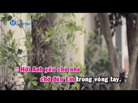 [Karaoke] Hát Ru Tình Yêu Đan Trường ft Hồ Quỳnh Hương FLV 480