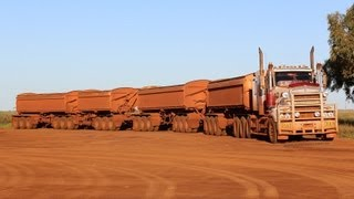 Road Trains in Port Hedland