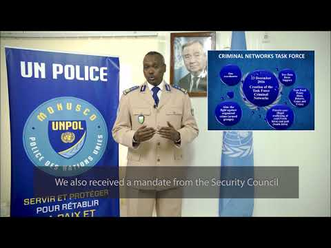 MONUSCO - Mandate of United Nations police in the UN Stabilization Mission in DR Congo