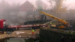 """Weir renovation - """"Klappe halten"""" - Sanierung Ludwigswehr Landshut"""