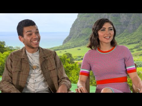 Jurassic World Newcomers Daniella Pineda & Justice Smith (Exclusive Interview)