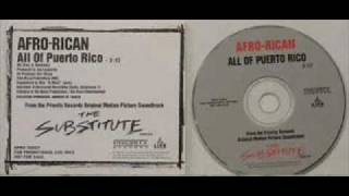 Afro Rican - All of Puerto Rico - Old School - DJ Skills