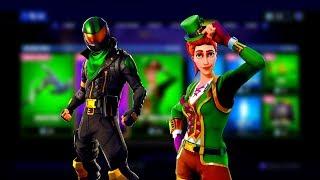 NEW [LUCKY RIDER] SKIN & SGT. GREEN CLOVER IS BACK - Fortnite Item Shop (Fortnite Battle Royale)🍀🍀
