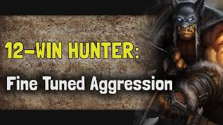 Hearthstone Arena | 12-Win Hunter: Fine Tuned Aggression (Boomsday #16)