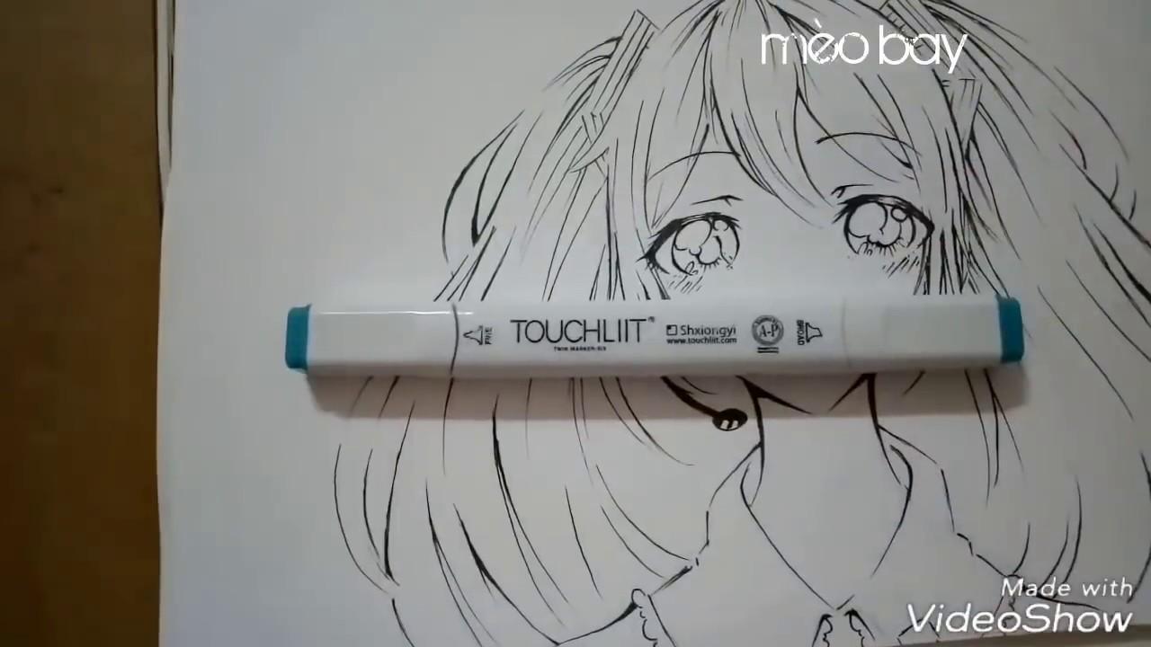 Vẽ Hatsune Miku – How to draw Hatsune Miku