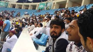 پاکستان سپر لیگ 2016 پشاور زلمی بمقابلہ کوئٹہ گلیڈیٹر بمقام دبئی کرکٹ سٹیڈیم (مرزا سہیل ظفر مانوچک)