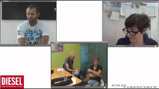 Intervista in streaming a Lapo Elkann e Renzo Rosso lanciano Jeans Denim e fibra di carbonio