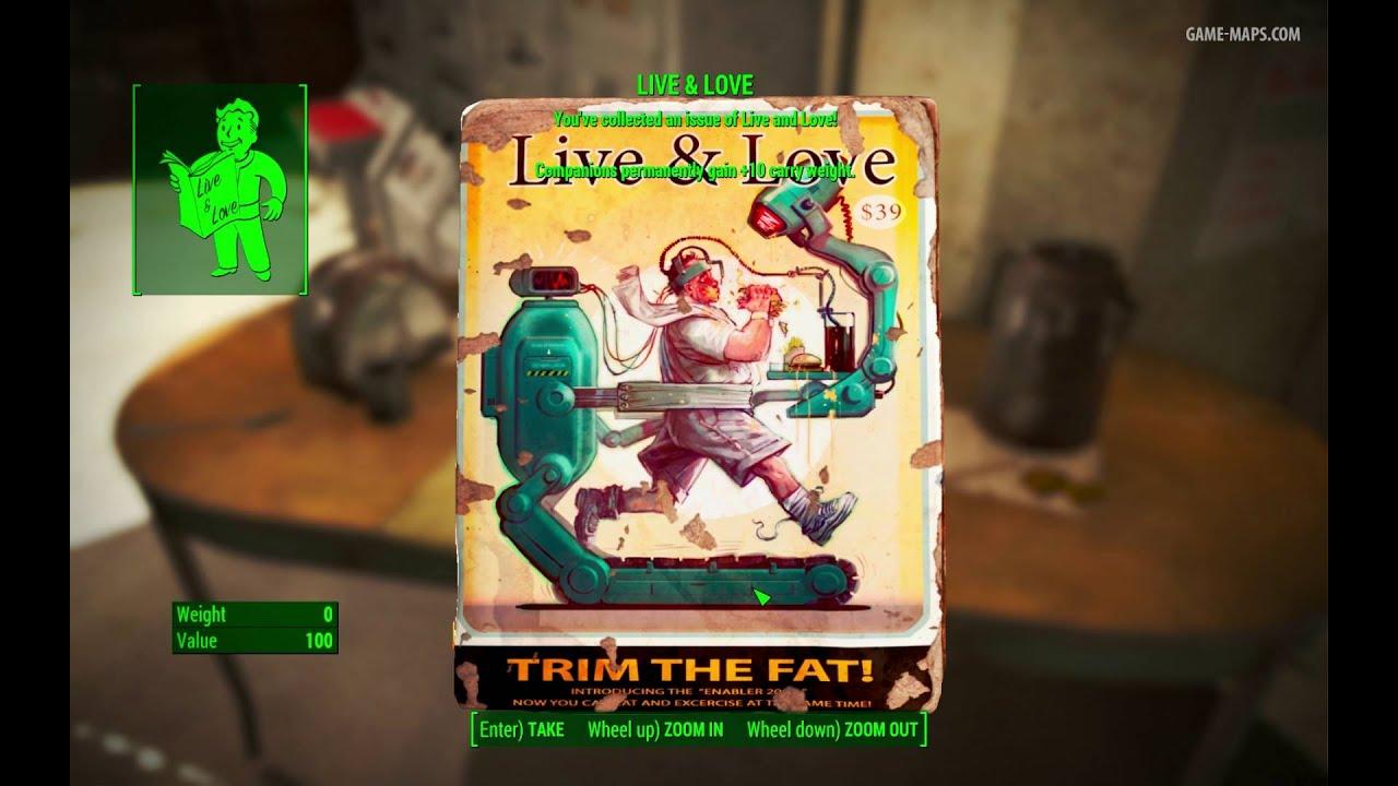 Live Love Magazine Wrvr Broadcast Station Fallout 4 Game Maps Com
