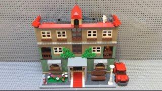 Самоделка: Лего квартирный дом / MOC:  Lego apartment house