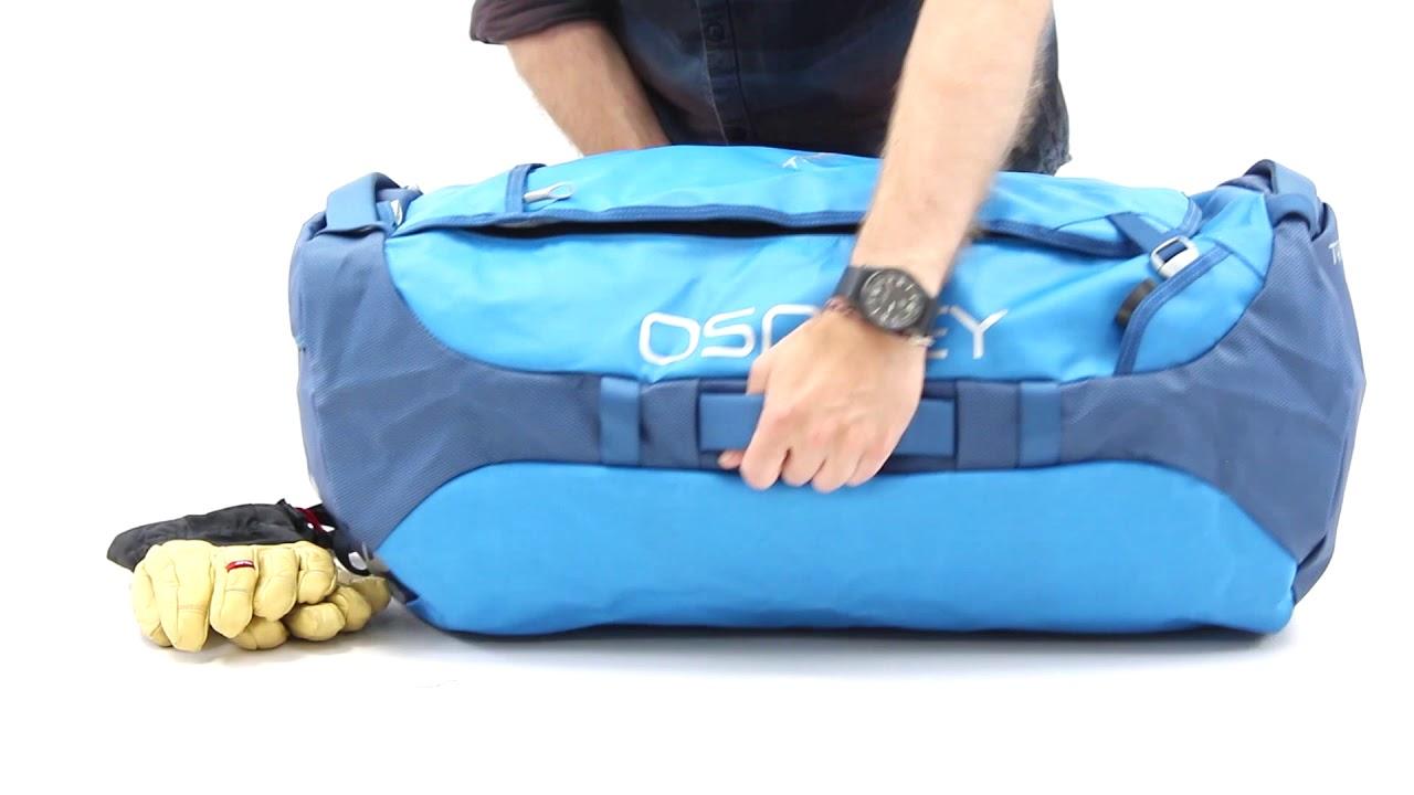 Présentation du sac Duffel Transporter 95 et 130 litres Osprey - YouTube bea27f67b4b