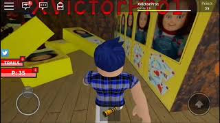 Scare compilation!! (Roblox the scary elevator)