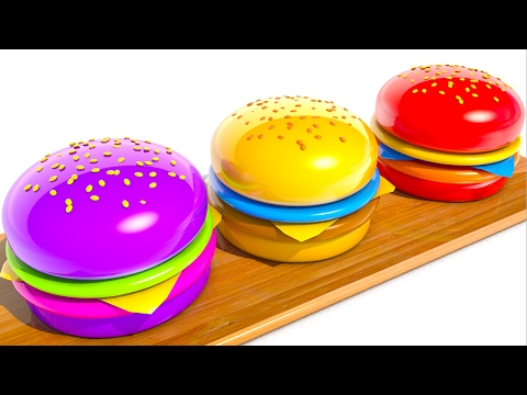 Thumbnail: Learning Colors with Hamburgers