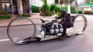 TMC DUMONT - Motorcycle with an Airplane Engine