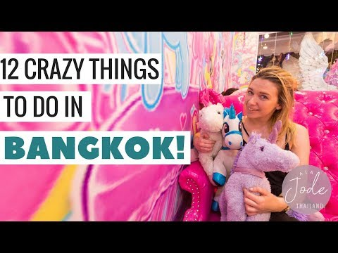 12 CRAZY Things To Do In Bangkok In 12 Hours! (In 12 Minutes) | Thailand Travel Vlog