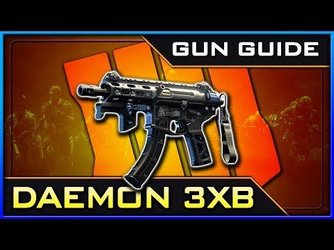 Daemon 3XB Stats & Best Class Setups! | Black Ops 4 Gun Guide #15