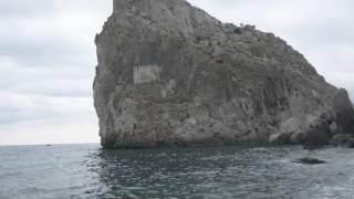 Прыжок в воду со скалы Дива (20м) .Симеиз. Крым