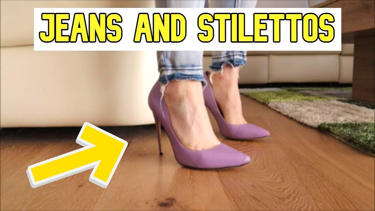 High Heels | Tapping | Stilettos 👠👠👠 and JEANS