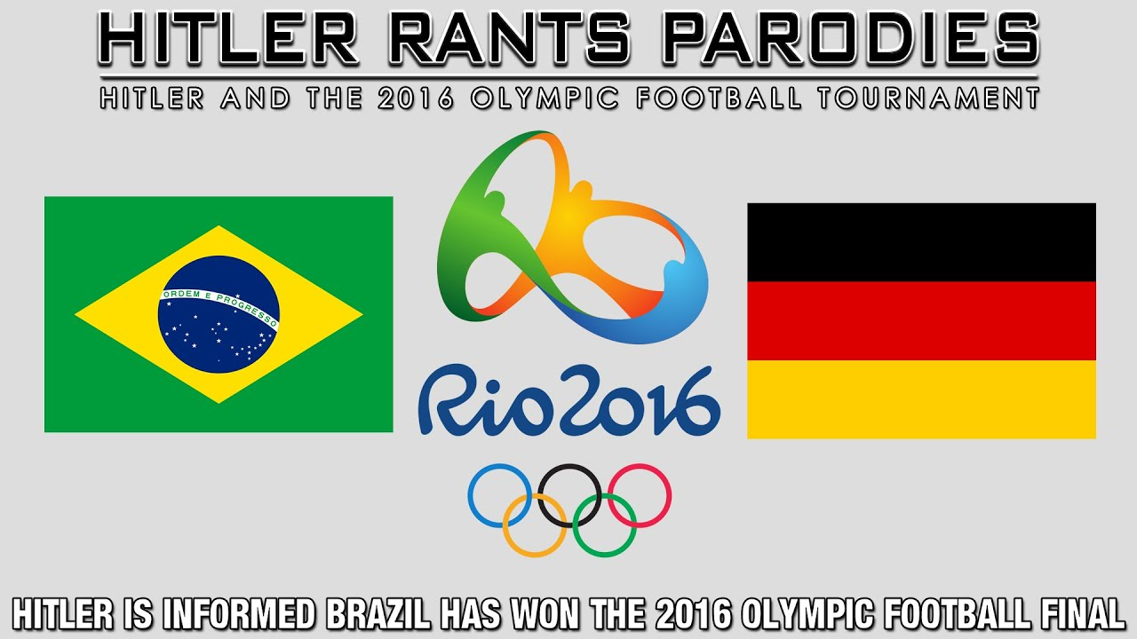 Hitler is informed Brazil has won the 2016 Olympic Football Final