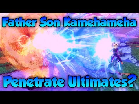 Which Ultimates can Father Son Kamehameha Penetrate? - Dragon Ball Xenoverse 2