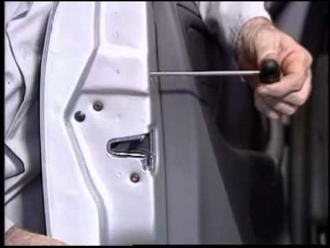 Door Lock Cylinder Removal W163 Youtube