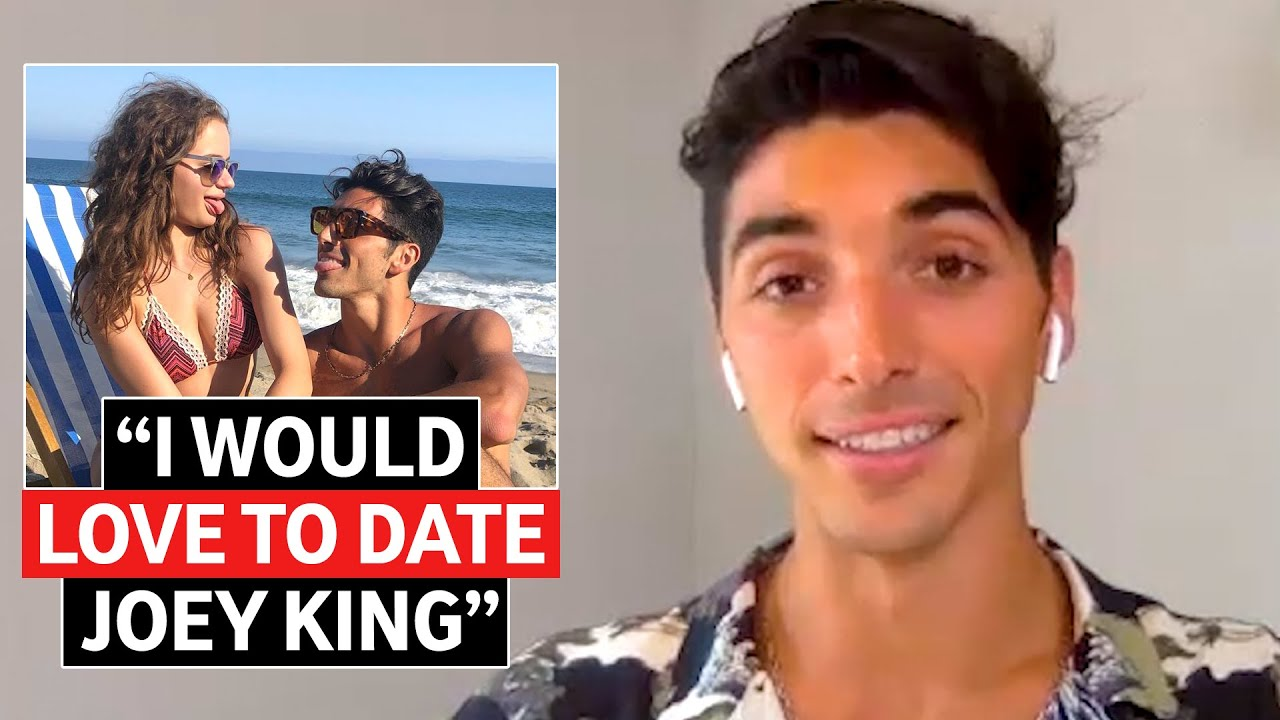 Taylor Zakhar Perez on Joey King Dating Rumors