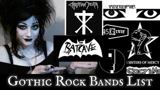 Gothic Rock Bands List! | Black Friday