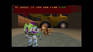 Toy Story 2 - Construction Yard 100% Playthrough #5